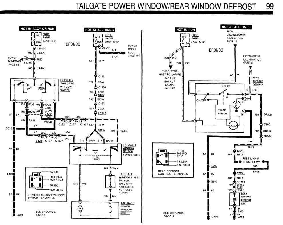 Tailgate Wiring
