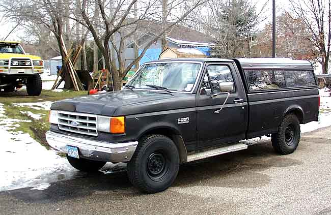 pirate4x4 com 4x4 and off road forum 1991 f 250 2wd cheap work truck mn. Black Bedroom Furniture Sets. Home Design Ideas
