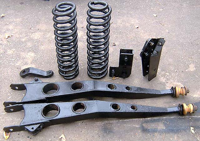 """1980-1996 Ford F-150 and Bronco 8"""" suspension lift - $600"""