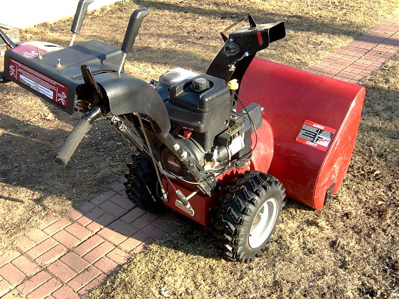 Ford Snow Thrower Parts : Index of parts snowblower
